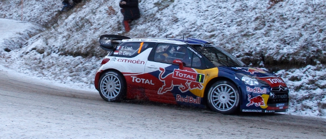 Sebastien Loeb, Rallye Monte Carlo (Photo Credit: Citroen Racing Media)