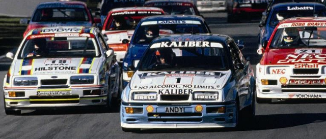 The 2012 Silverstone Classic powered by the AA will celebrate the 25th anniversary of the Ford Sierra Cosworth RS500 with a special race for touring cars (Photo Credit: Silverstone Classic)
