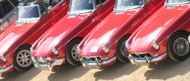 Silverstone Classic will be one of three events in 2012 to celebrate the MGB