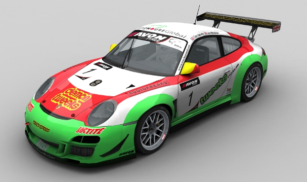 Minshaw and Harvey's 2012 Trackspeed Porsche