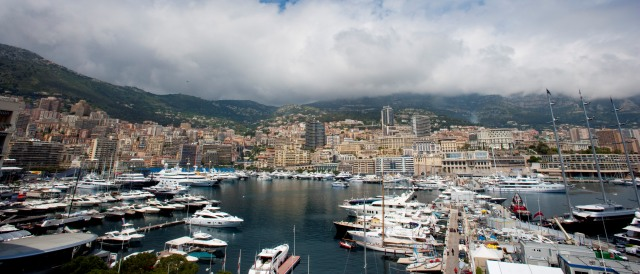 Monaco harbour - Photo Credit: Alastair Staley/GP2 Media Service
