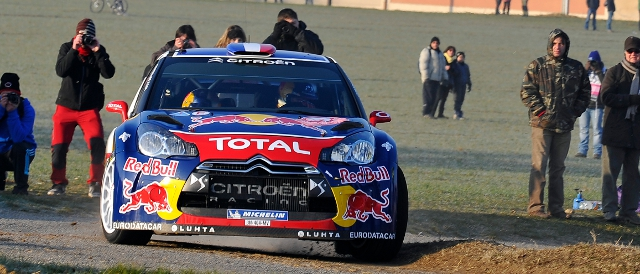 Sebastien Loeb, Citroen DS3 (Photo Credit: Citroen Racing Media)