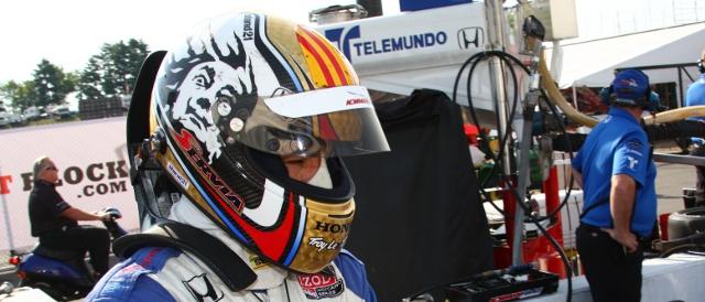 Oriol Servia (Photo Credit: Indycar)