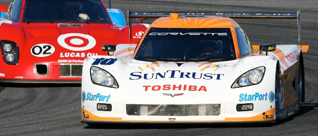 Angelelli's Suntrust Corvette DP (Photo Credit: Grand-Am)