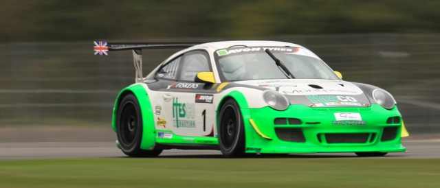 Trackspeed entered two Porsches in the 2011 British GT Championship (Photo Credit: Jakob Ebrey)