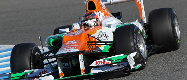 Jules Bianchi - Photo Credit: Sahara Force India Formula One Team
