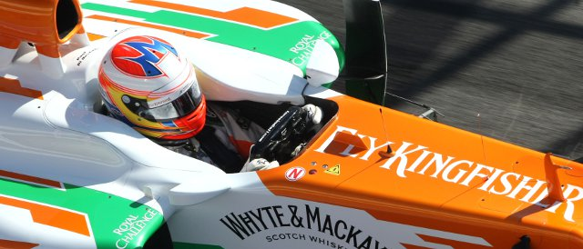 Paul di Resta - Photo Credit: Sahara Force India Formula One Team