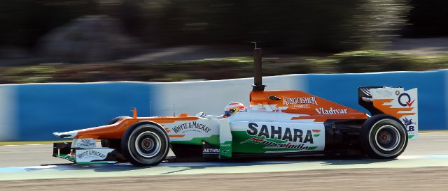 Paul di Resta - Sahara Force India F1 Team