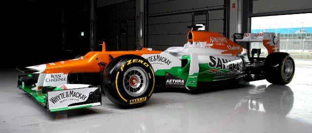 The VJM05 - Photo Credit: Sahara Force India F1 Team