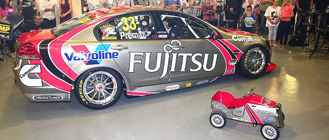 Fujitsu Racing GRM 2012 entry Photo credit: Garry Rogers Motorsport