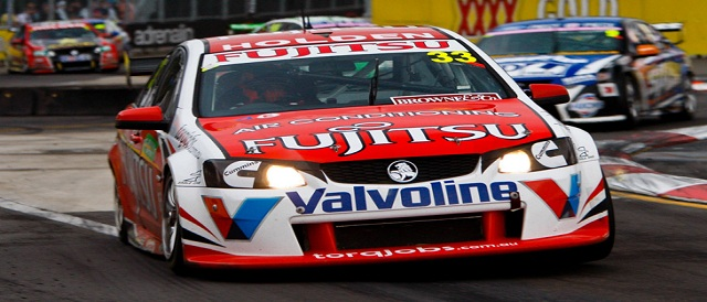 Alexandre Prémat's new ride -the #33 Fujitsu Racing car Photo credit: V8 Supercars Media