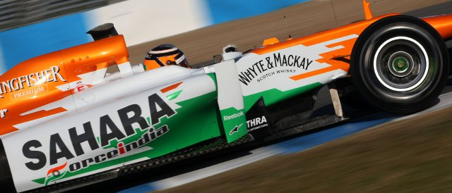 Nico Hulkenberg - Photo Credit: Sahara Force India Formula One Team
