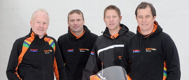 The Padgetts Honda 2012 Road Race Team - Photo Credit: Isle of Man TT