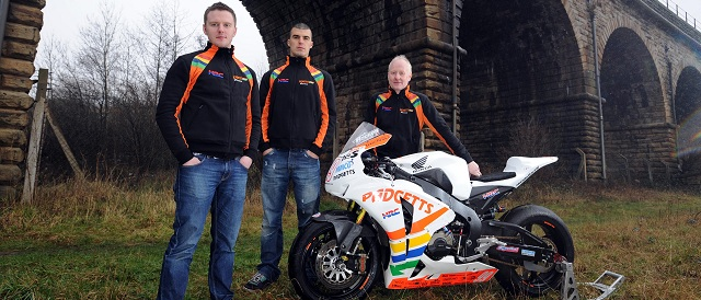 Padgetts Honda 2012 BSB Rider Line-up: Photo Credit - MCN/Pacemaker