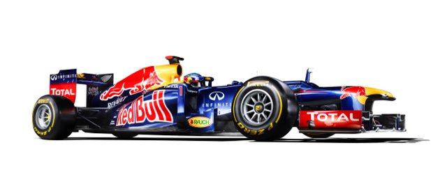 The Red Bull RB8 - Photo Credit: Red Bull Racing