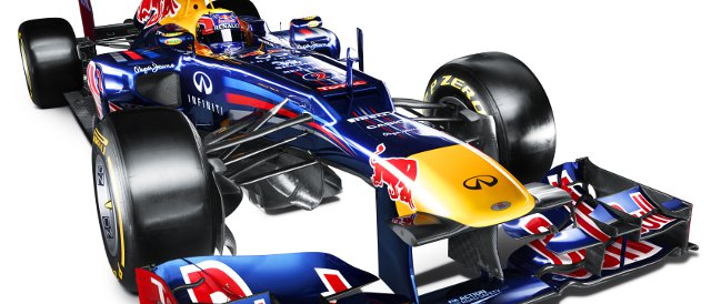 The stepped nose of the Red Bull has a slightly different design to that of the other cars with the same feature - Photo Credit: Red Bull Racing