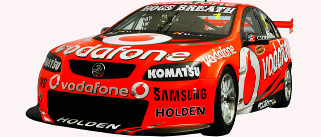 TeamVodafone 2012 livery Photo credit: TeamVodafone