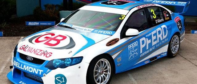 Tony D'Alberto's provisional 2012 livery Photo credit: Tony D'Alberto Racing