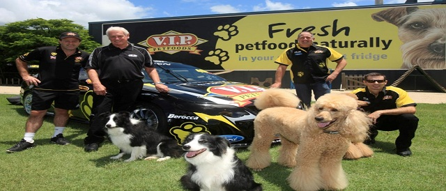 DJR/V.I.P Petfoods launch Photo credit: Dick Johnson Racing