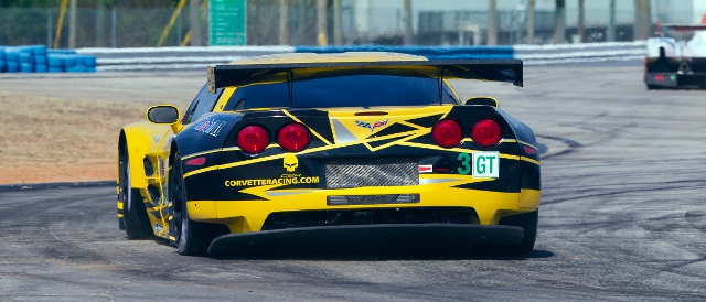 Covette Racing testing at Sebring International Raceway (Photo Credit: Richard Prince/Corvette Racing Photo)