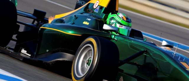 Conor Daly - Photo Credit: Malcolm Griffiths/GP3 Media Service