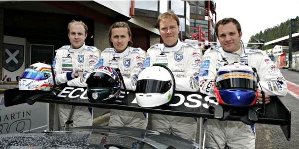 Ecurie Ecosse drivers at the 2011 Spa 24 Hours (Photo Credit: Ecurie Ecosse)
