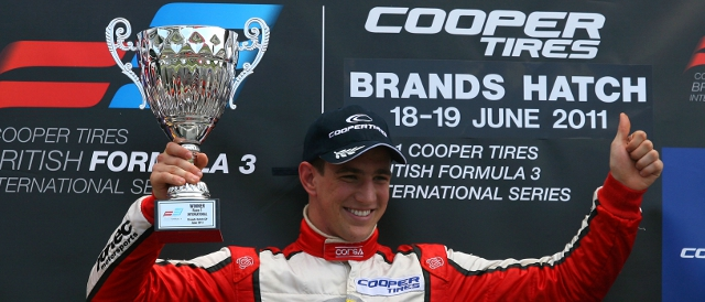Foresti was a winner in British F3 in 2011 (Photo Credit: SRO)