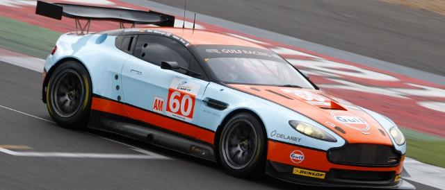 Gulf Racing's Aston Martin