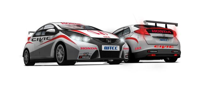 Honda Civic WTCC - Photo Credit: Honda