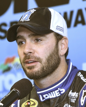 Jimmie Johnson (Photo Credit: Jerry Markland/Getty Images for NASCAR)
