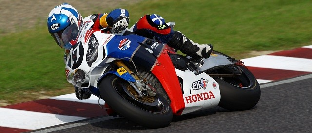 Keith Amor - Photo Credit: Honda TT Legends