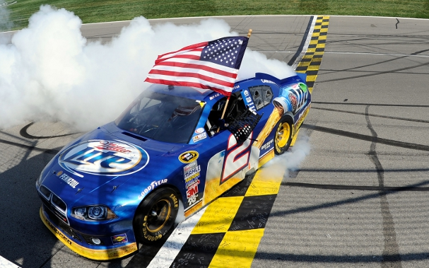 Brad Keselowski (Photo Credit: John Harrelson/Getty Images for NASCAR)