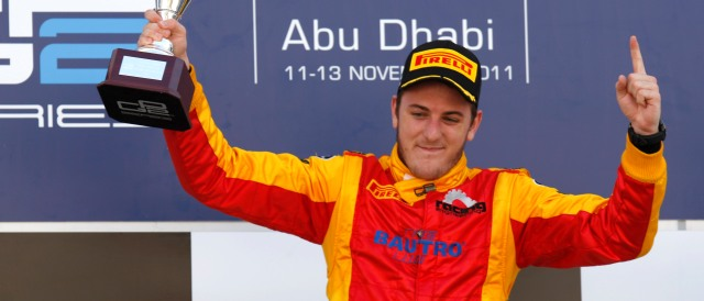 Fabio Leimer - Photo Credit: Alastair Staley/GP2 Media Service