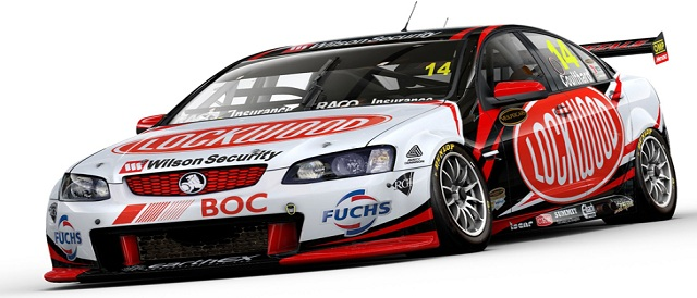 Fabian Coulthard's Lockwood Racing Commodore Photo credit: Brad Jones Racing