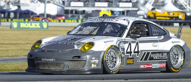 Magnus Racing at the 2012 Rolex 24 at Daytona (Photo Credit: Rolex/Stephan Cooper)