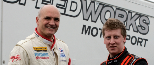 Tony Hughes and Adam Morgan (Photo Credit: Mike Petch/Speedworks)