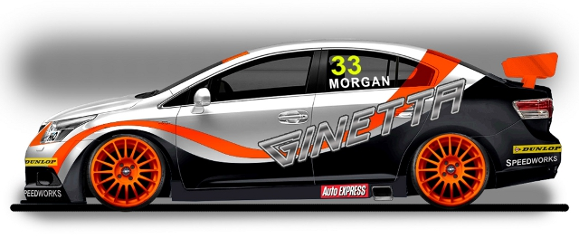 Artist's Impression of Adam Morgan's 2012 charge (Image Credit: Toyota)