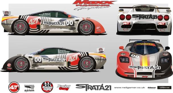 Neil Garner/Azteca Motorsport/Strata 21 Mosler for 2012