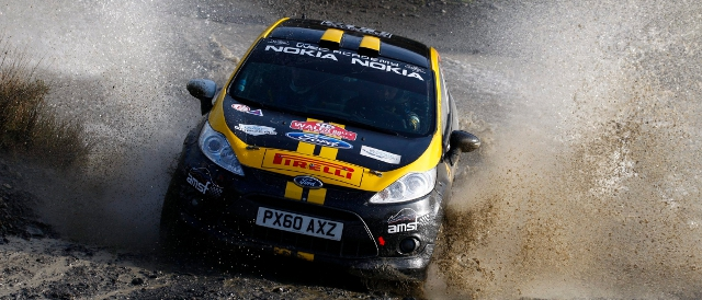 Craig Breen graduated from last years WRC Academy (Photo Credit: M-Sport)