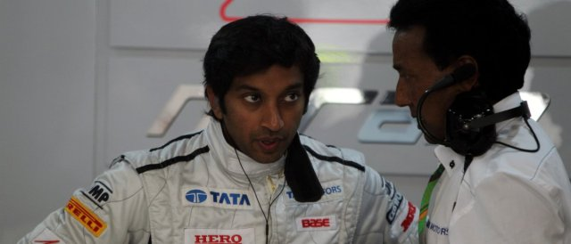Narain Karthikeyan - Photo Credit: HRT