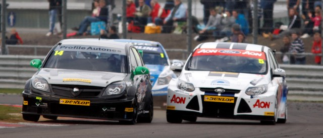 After racing against him in the BTCC last year, Nash (left) will be teammate to Chilton (right) at the WTCC opener at Monza in March - Photo Credit: btcc.net