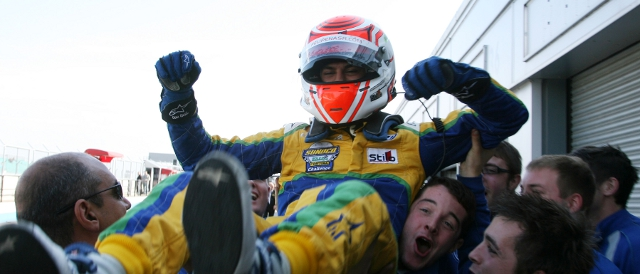 Felipe Nasr clinched the Sunoc Challenge with pole position at Donington Park in September (Photo Credit: Jakob Ebrey Photography)
