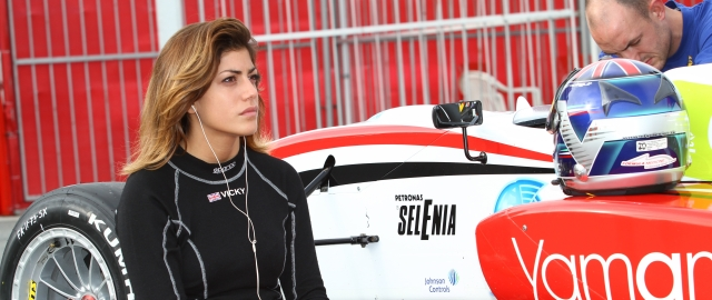 Vicky Piria - Photo Credit: ACI/CSAI/Formula Abarth