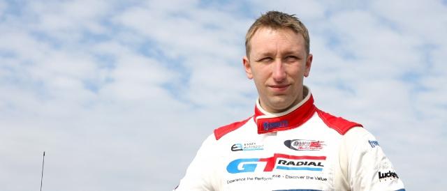 Jamie Stanley competing in the Lotus Cup UK last season