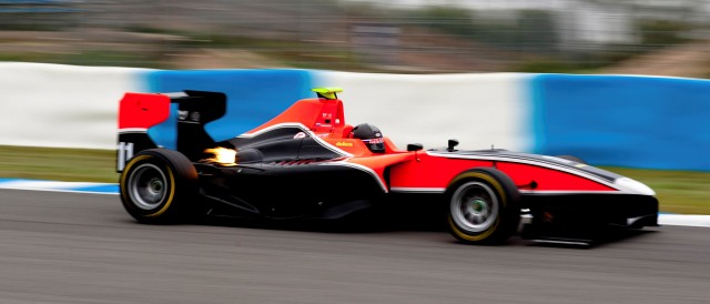 Suranovich tested for Marussia Manor at Valencia and Jerez (above) at the end of last year - Photo Credit: GP3 Media Service