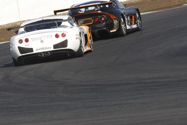 Max in action on board the Ginetta G50