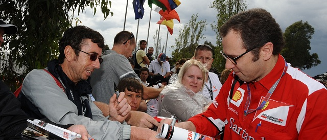Stefano Domenicali - Photo Credit: Scuderia Ferrari