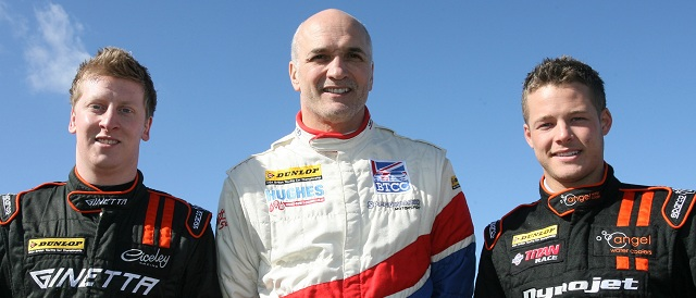 Adam Morgan (left), Tony Hughes (centre) and Frank Wrathall (right) - Photo Credit: Jakob Ebrey Photography