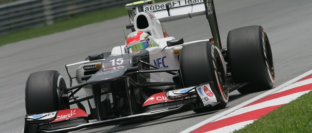 Sergio Perez - Photo Credit: Sauber F1 Team