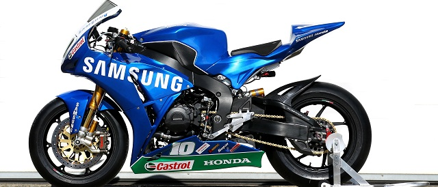 The new Samsung Honda 2012 Livery - Photo Credit: Honda Racing